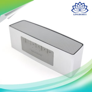 Gold and Silver Bluetooth Hand-Free Call Mini Speaker with FM pictures & photos