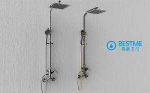 Unique Design Sanitary Ware Shower Set (BM-60065BK) pictures & photos