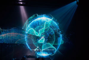 3D Holographic Projection System Holographic Mesh Screen for Hologram Live Show pictures & photos