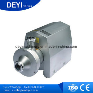 Stainless Steel Sanitary CIP Self-Priming Pump pictures & photos