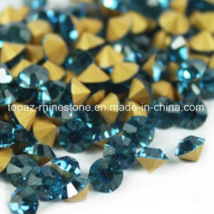 Point Back Chaton Ss38 8mm Rhinestone Fancy Chaton 888 (TB-8mm blue zircon) pictures & photos