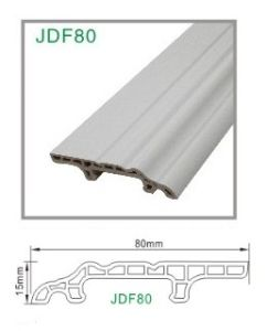 Flooring Accessories PVC Plastic Foam Wall Skirting by Clips Install pictures & photos