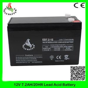 12V 7.2ah Rechargeable Mf AGM Deep Cycle Lead Acid Battery