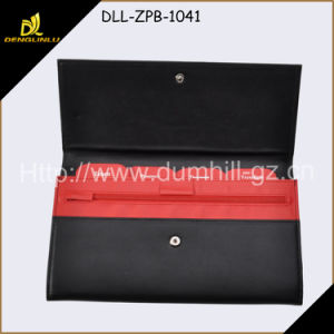 Long Cheque Book Holder with Mentioned Separate Labels