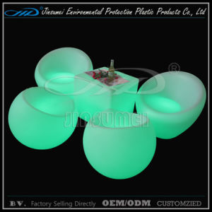 PE Material Roto Moulding Plastic LED Barl Chair pictures & photos