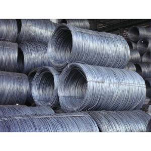Reinforced SAE1006 Hot Rolled Steel Wire Rod pictures & photos