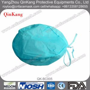Non-Woven Tie Lace Surgery Doctor Cap pictures & photos