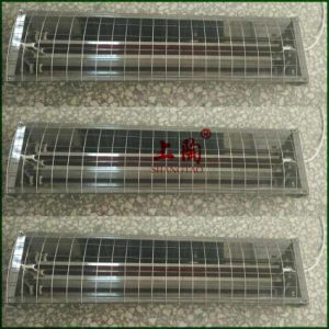 220V 1000W Shortwave Ruby Infrared Quartz Halogen Tube with Lamp Reflector pictures & photos