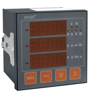 LCD/LED Multi-Funcation Multimeter pictures & photos