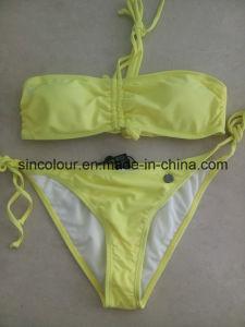 80%Nylon 20%Spandex 190 GSM Ladiessexy Bikini Set pictures & photos