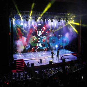 7.62mm Indoor Rental LED Display for Stage Performance