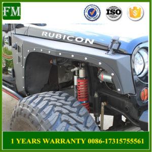2/4 Door Wheels Armor Body Fender Flares for Jeep Wrangler pictures & photos