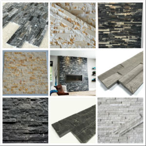 White Oak Marble Ledge Stone, Marble Stacked Stone and Marble Culture Stone pictures & photos