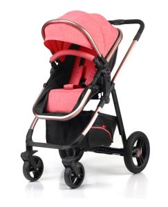 Aluminum Luxury European Fold Baby Stroller with Car Seat pictures & photos