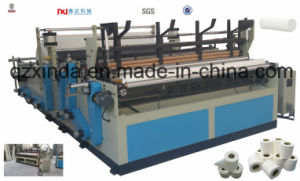 Mini Toilet Paper Rewinding Making Machine pictures & photos