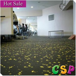6mm Thickness Rubber Flooring with Colorful EPDM on Surface pictures & photos