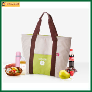 Fashion Canvas Tote Insulated Cooler Bags Shopping Cooler Bag (TP-CB381) pictures & photos