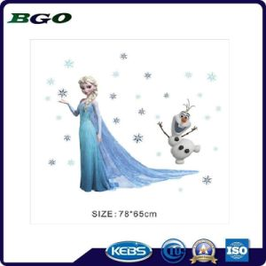 Decorative Film 3D Wall Removable Stikers Snow Queen pictures & photos