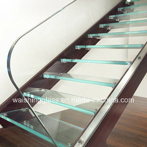 Clear/Colorful Tempered Laminated Glass Stairs with Ce/ISO9001/Igcc pictures & photos