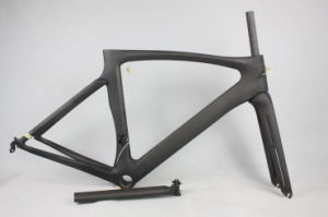 Aero Carbon Road Racing Frame Carbon Bicycle Frame pictures & photos