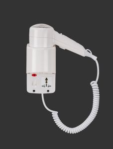 High Quality ABS Wall Mounted Hair Dryer pictures & photos