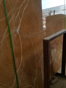 Top Quality Factory Price Orange Onyx Yellow Marble Slabs pictures & photos