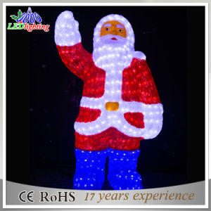 New Product China LED Acrylic Christmas Father Decoratons Light pictures & photos