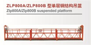 Suspended Platform Crane Lifting Platform Zlp800 pictures & photos