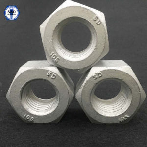 A563m 10s Heavy Hex Nuts Dacromet High Tensile Nut pictures & photos