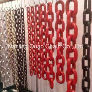 Grade 80 Black Self Color High Test Lifting Link Chain