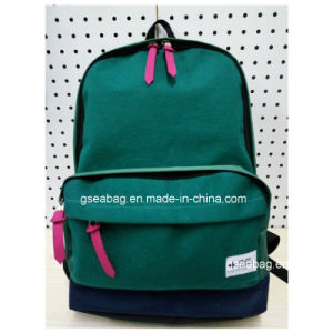 Fashion School Student Bag with Cotton Hiking Camping Backpack (#20019) pictures & photos