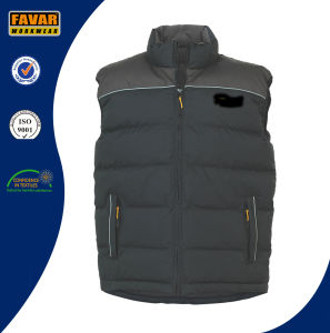 Winter Padded Outdoor Black Bodywarmer pictures & photos