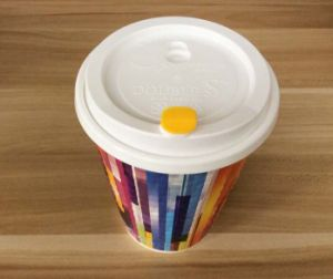 Custom High-End, Non-Toxic Coffee Paper Cup with Lid pictures & photos