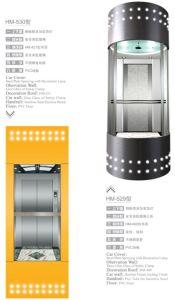 Isuzu AC Vvvf Panoramic Elevator (HSGQ-628) pictures & photos