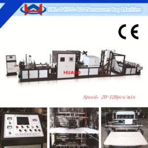 Latest Design Faster Non Woven Bag Making Machine (HBL-DC600-700-800-900) pictures & photos