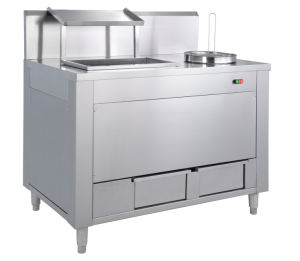 Electric Breading Table, Fast Food Equipment Gw-2400 pictures & photos