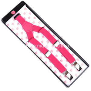 Fashion Toddlers Y Shape Skinny Elastic Braces Suspender Multi Colors pictures & photos