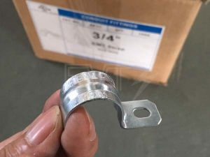 "Rigid Pipe Clamp 1/2"" Rigid/IMC Two Hole Strap pictures & photos"