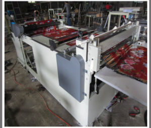 PVC Film Roll Heat Pressing and Smooth Sheet Cutting Machine (DC-HQ) pictures & photos