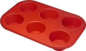 Silicone 6 Cup Muffin Pan & Cake Mould &Bakeware FDA/LFGB (SY1311) pictures & photos