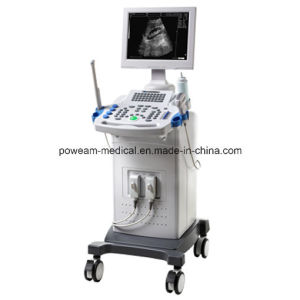 Digital Mobile Ultrasound Scanner with Trolley (WHY40) pictures & photos