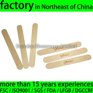 "150X18X1.6mm 6"" Long Wooden Tongue Depressor Top Quality pictures & photos"