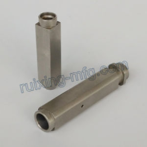 Custom Made CNC Machining Stainless Steel Square Coupling pictures & photos