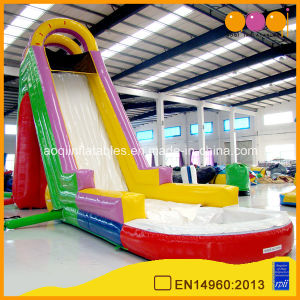 Oval Inflatable High Water Slide for Kid pictures & photos