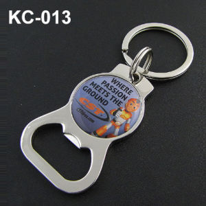 Metal Key Chain with Doming Sticker Logo pictures & photos