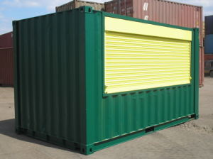 Portable Container House Roller Shutter pictures & photos