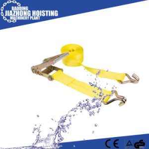 Hot Sale CE Approved Ratchet Tie Down Safety Belt pictures & photos