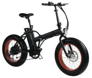 48V500W Foldable 20 Inch Fat Big Tyre Electric Bike