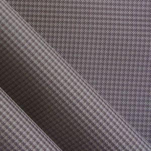 Polyester Grid Fabric PVC/PU Double Tone Fabric pictures & photos