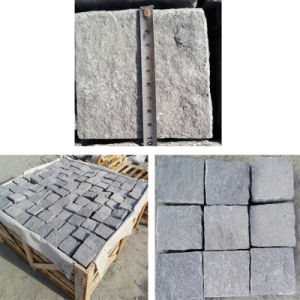 Grey/Black Cubestone, Kerbstone, Cobble Stone, Paving Stone pictures & photos